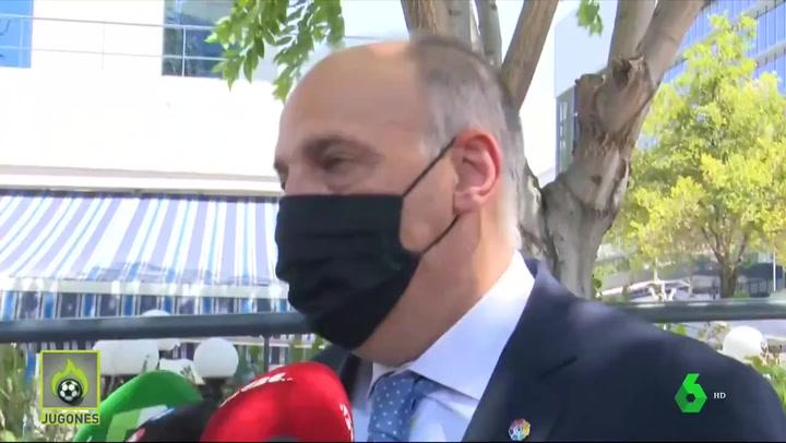 "Javier Tebas: ""No voy a dimitir"""
