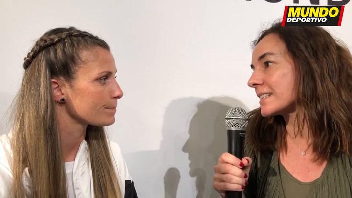 Entrevista a Sandra Paños, guardameta del Barça, antes de la final de Champions