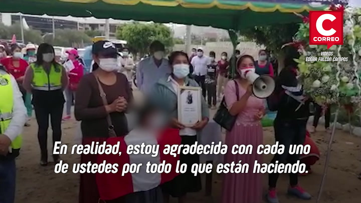 Familiares reciben el cuerpo de Silvano Cántaro en Huánuco