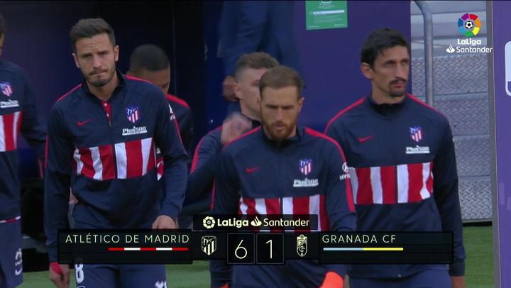 LaLiga Santander (J.3): Atlético de Madrid 6-1 Granada