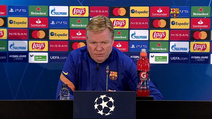 Koeman sobre si es mejor Cristiano o Messi