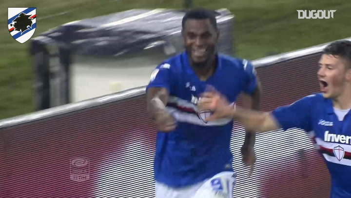 Duvan Zapata's late winner vs Roma