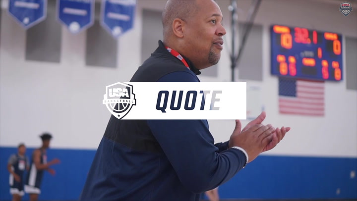 Coach's Quote: Mike Jones Reacts To The USA U16 National Team Finalists