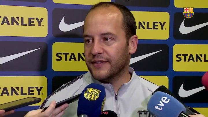 """Lluís Cortes: """"La actitud es ir a Noruega a ganar el partido"""""""