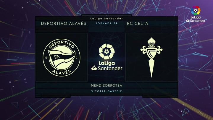 LaLiga Santander (J29): Resumen y goles del Alavés 1-3 Celta