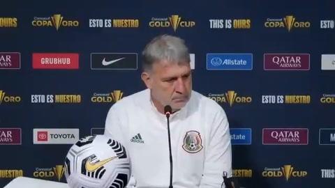 'Tata' Martino habló del partido Honduras-México en Copa Oro 2021