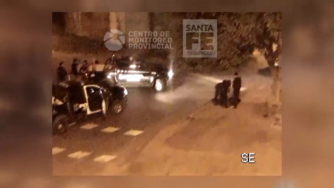 Espectacular despligue policial para detener a cinco chicos armados