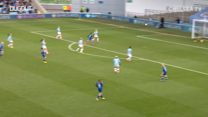 Bethany England's long-distance strike against Manchester City
