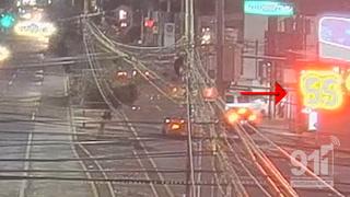VIDEO: Carrera clandestina deja fuerte choque entre vehículos en Bulevar Morazán