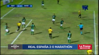 Real España 2-0 Marathón