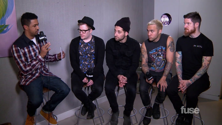 Shows: Top 20 Countdown: Fall Out Boy Webclip 2