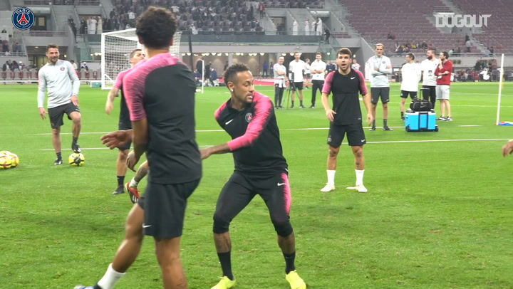 Get Up Close With Neymar In Doha