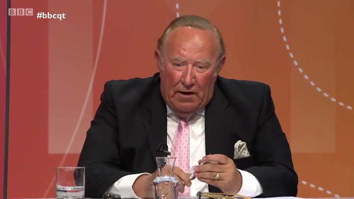 Andrew Neil says he left GB News as he did not want to be part of 'British Fox News'