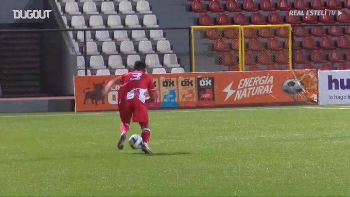 Edgar Castillo's hat-trick in the Nicaraguan Cup