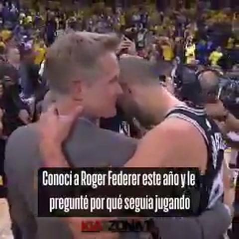 Si lo amas, sigue: el pedido del entrenador de los Warriors a Ginóbili