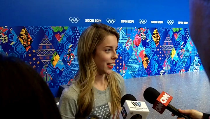Olympic Skater Ashley Wagner Talks About 'The Face'