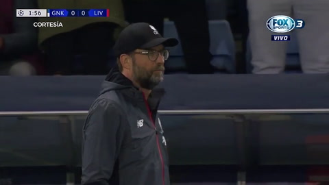 Genk 1 - 4 Liverpool (UEFA Champions League)