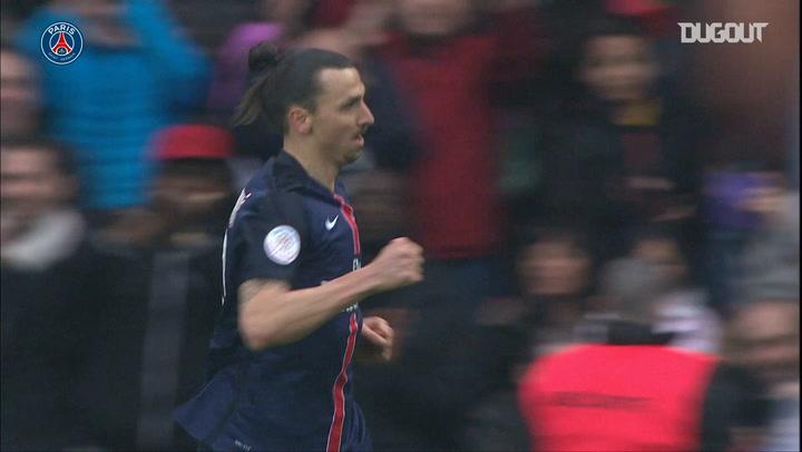 Zlatan Ibrahimović's 2016 Hat-Trick vs Nice
