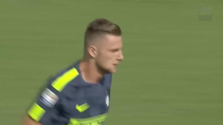 Así juega Milan Skriniar, uno de los baluartes de la selección eslovaca