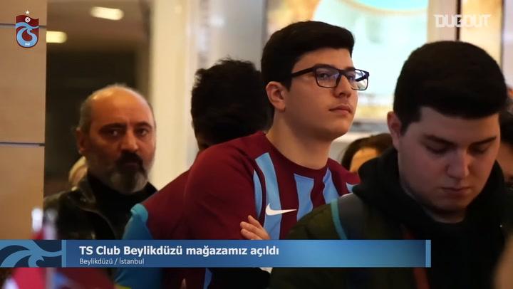 Trabzonspor Beylikdüzü'nde Yeni TS Club Mağazasını Açtı