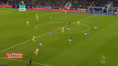 Video: Leicester City 0-1 Manchester City (Premier Lague)