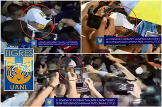 Asfixiante: Con locura, así fue la llegada de Florian Thauvin a México para ser presentado con Tigres