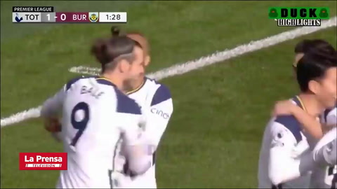 Tottenham 4-0 Burnley (Premier League)