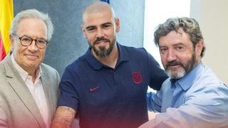 Víctor Valdés regresa al Barcelona, pero como entrenador del Juvenil A