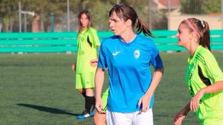 Alba Palacios, la primera mujer transgénero que debuta en el fútbol de España