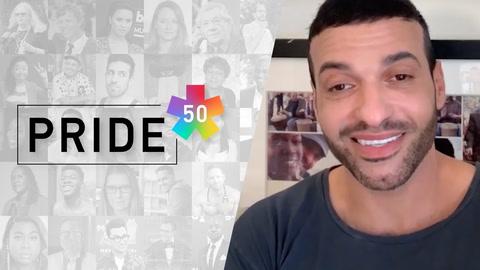 #Pride50: Haaz Sleiman is the queer superhero we've been waiting for