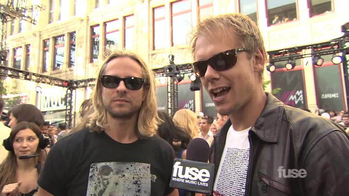 Shows: Much Music Video Award 2013: Armin Van Buren and Trevor Guthrie