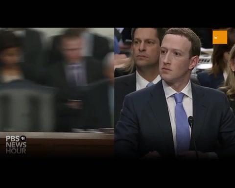 Zuckerberg se disculpó ante el Congreso por usar datos personales