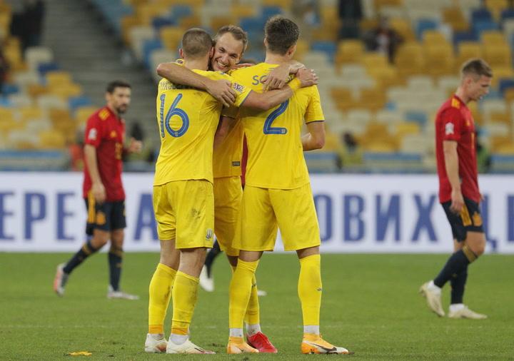 Nations League: Ucrania-España (1-0)