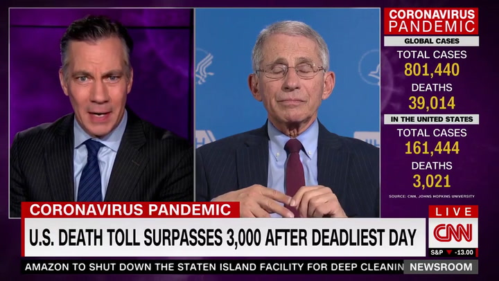 Fauci: We Would Be Much Better Prepared if Second Wave of Coronavirus Hit