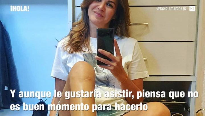 Fabiola Martínez explica los motivos por los que no asistirá a la boda de Claudia Osborne