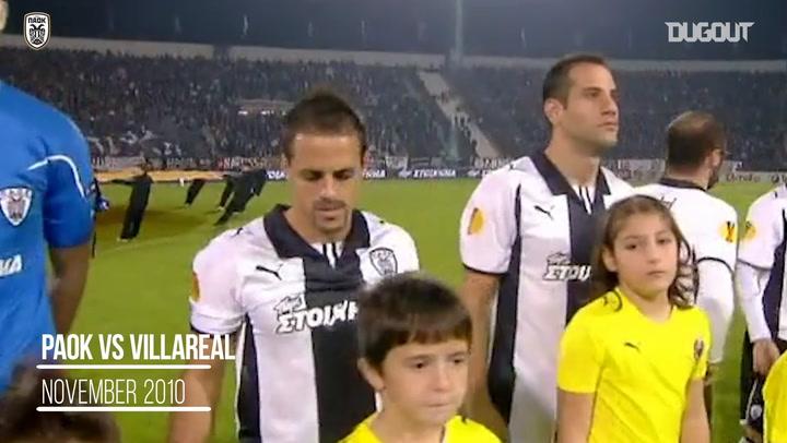 Throwback: PAOK FC Vs Villarreal 2010