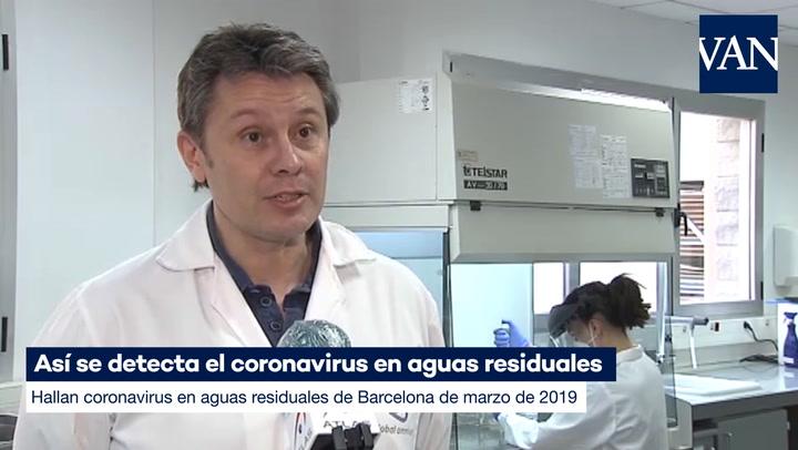 Así se detecta el coronavirus en aguas residuales