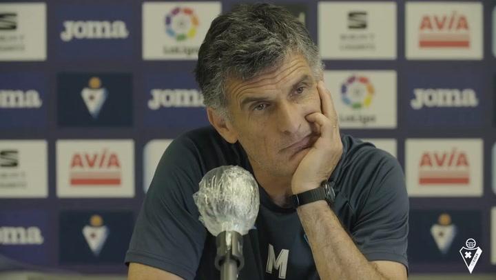 """Mendilibar: """"Sin Orellana ni Escalante también hemos sacado los partidos adelante"""""""