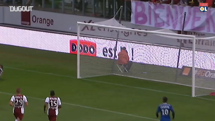 All Alexandre Lacazette's goals vs Metz