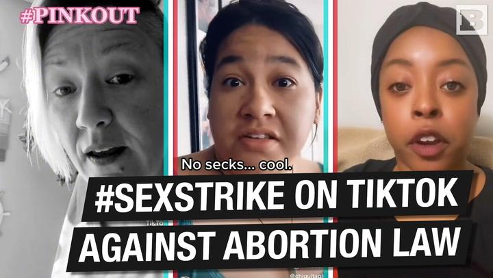 Women on TikTok Push #SexStrike to Protest Texas Abortion Law