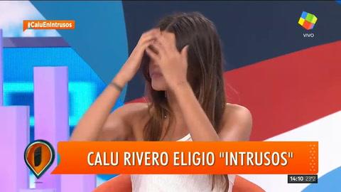 Calu Rivero habló de la primera vez que Darthés se excedió en la filmación de Dulce Amor