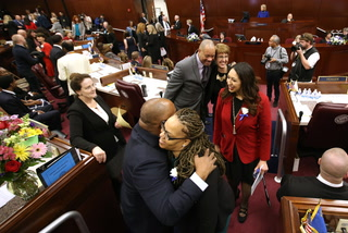 The first female-majority Legislature in the history of the US opens in Carson City
