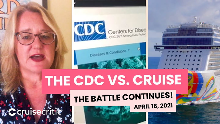 CRUISE NEWS: The CDC Battle Over Cruise Continues!