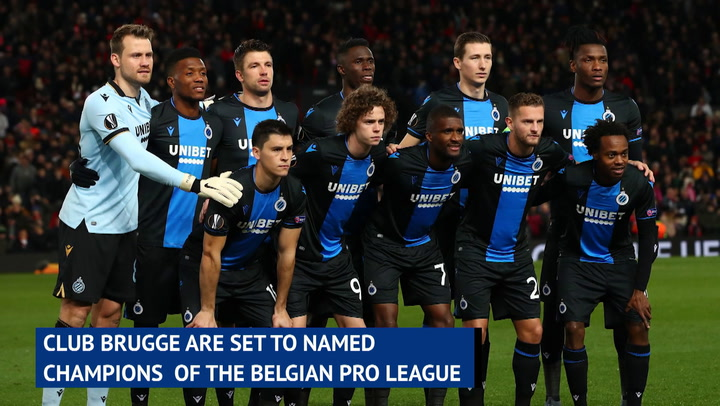 Club Brugge set to be named Belgian champions