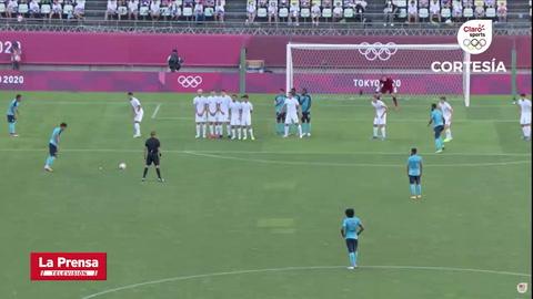 Nueva Zelanda 2 - 3 Honduras (Juegos Olímpicos de Tokio)