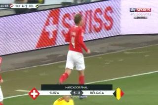 Suiza soprende con goleada de 5 - 2 a Bélgica
