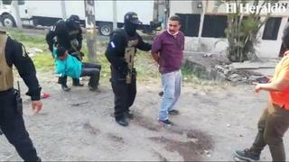 Así fue el momento de la captura de los conductores de la narcoambulancia