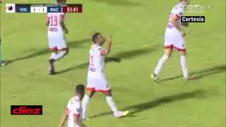 ¡Rony Martínez castiga al CDS Vida con un golazo de cabeza!