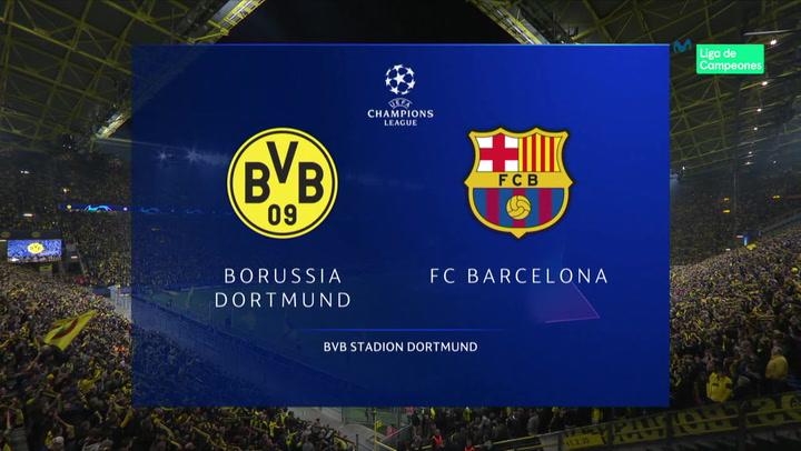 Champions League: Resumen y Goles del Dortmund - Barça