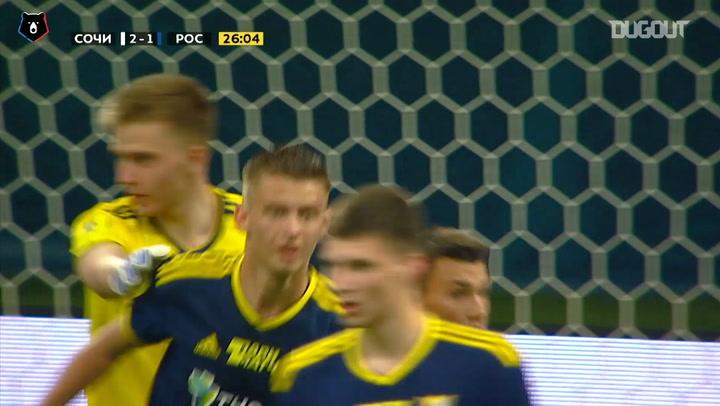 Denis Popov's record-breaking saves against FK Sochi